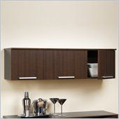Coal Harbor Wall Mounted Hutch in Espresso - ECHW-0203-1