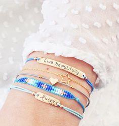 Conjuntos de pulseras, combinaciones atractivas