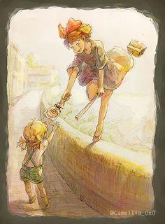 The Anime in the World . Totoro, Studio Ghibli Art, Studio Ghibli Movies, Hayao Miyazaki, Fanarts Anime, Anime Films, Image Manga, Castle In The Sky, Arte Disney