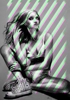 Sandra Jawad  - Portrait Illustrations by Sandra Jawad