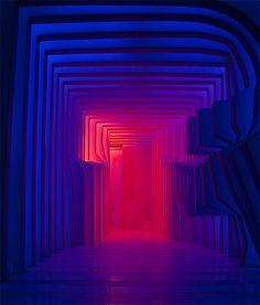 Cornea TI: Light Installation at Luminale 2014