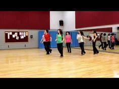 Down To The River - Line Dance (Dance & Teach in English & 中文) - YouTube