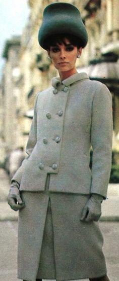One piece dress and jacket by Guy Laroche