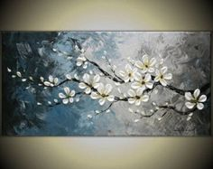 Original Modern Art Painting on Gallery wrapped by TMKGallery