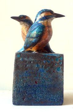 Raku- Ijsvogel