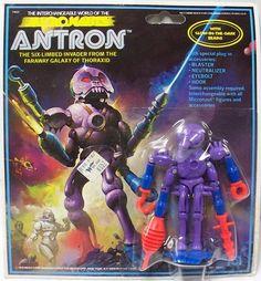 Ken Kelly - Antron, Micronauts Card