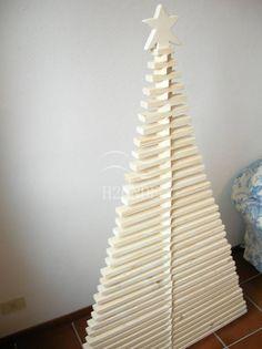 Weihnachtsbaum holz modern