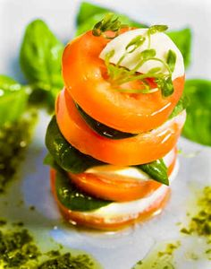 Food Styling and Photography by Doug Gilletz - Tomato Bocconcini
