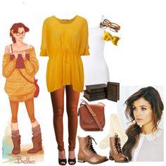 hipster belle outfit - Hipster Halloween Ideas