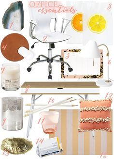 Chic office essentials - via @Emily Schuman / Cupcakes and Cashmere