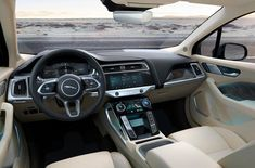 October arrives and with-it also Jaguar I-Pace. The new 2019 Jaguar I-Pace is the all-electric variant of Jaguar's F-Pace SUV and the brand's first all-electric All Electric Cars, Electric Vehicle, Car Repair Service, Jaguar F Type, Best Muscle Cars, Diesel Cars, Best Classic Cars, Limousine, Luxury Cars