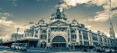 main train station and the oldest station in Australia..Flinders St Station Melbourne by Derek Sheerin on 500px