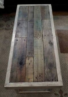 Vintage Farmhouse Coffee Table #ryobination