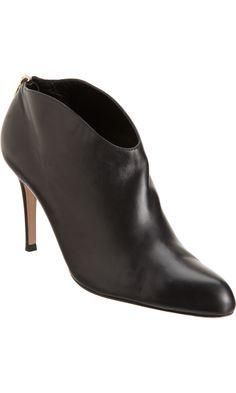 Back Zip Shoe Boot