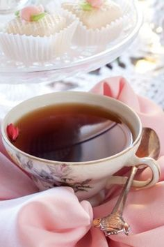 A lovely cup of tea