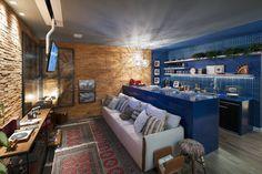 Apartamento do Homem Moderno - Morar Mais por Menos Vitoria 2015 (De Cristiane Locatelli Arquitetos & Associados)