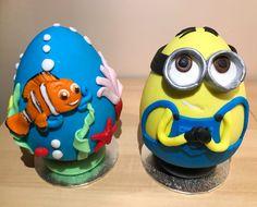 Nemo and minion eggs!
