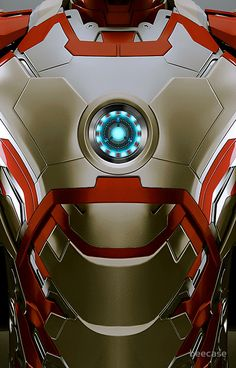 iPhone case - Iron man Body Armor Mark 47 - Apple iPhone case by beecase
