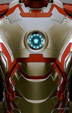 iPhone case - Iron man Body Armor Mark 47 - Apple iPhone case by beecase