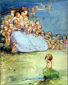 Water Babies illustration by Mabel Lucie Attwell