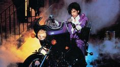 """""""Purple Man"""" catches a ride with prince"""