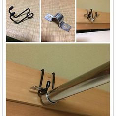 Interior examples such as 100 average / drying pole / DIY / Japanese-style room / clothes hook Clothes Hooks, Diy Kitchen Storage, Room Planning, Diy Desk, Organization Hacks, Diy Beauty, Tricks, Diy Furniture, Diy And Crafts