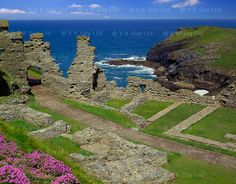 Went here with my son and his Dad years ago. Cornwall England, North Cornwall, Devon And Cornwall, King Arthur's Castle, Tintagel Cornwall, Homes England, Dartmoor, England And Scotland, World Heritage Sites