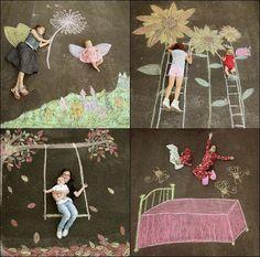 Home - burgh baby - Kreidekunst - Chalk Art Art For Kids, Crafts For Kids, Arts And Crafts, Kids Diy, Summer Crafts, Summer Fun, Chalk Photography, Photography Kids, Chalk Photos