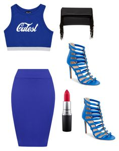 """""""The Cutest"""" by fredericaehimen ❤ liked on Polyvore featuring WearAll, Vince Camuto, Shiraleah and MAC Cosmetics"""