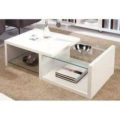Mueble Mesa De Centro Melamina Vidrio Decoración Sala Melamina 18mm. Medidas: Alto: 35cm. Ancho: 80 cm. Profundidad: 45 cm