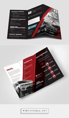 Mitsubishi Insurance by Tokio Marine Indonesia on Behance. - a grouped images picture Graphic Design Brochure, Behance, Random, Pictures, Image, Photos, Casual, Grimm