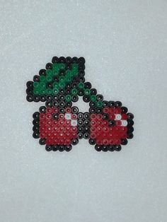 Pacman Cherries Hama Beads