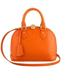 We Love this kind of orange! Louis Vuitton S/S 2013 bags
