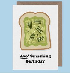23 Essential Items For Anyone Who Really Fucking Loves Avocado All Themes, Cool Photos, Birthday Cards, Avocado, Birthdays, Stationery, Essentials, Crafty, Lettering
