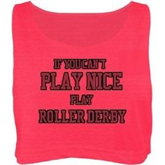 roller derby clothes   Amazon.com: Play Nice Roller Derby: Custom Misses American Apparel ...