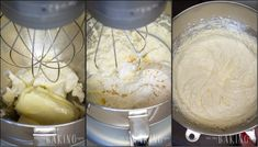 Sour Cream Frosting - Fluffy and Creamy frosting with a tangy sour cream flavor will work with many combinations of cake, including yellow or chocolate sponge cake. Sour Cream Frosting, Chocolate Sponge Cake, Cream Cheese Cookies, Yummy Cakes, Baking, Desserts, Yellow, Pastries, Food