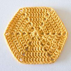 Crochet Fundamentals: How to Crochet a Hexagon
