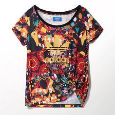 adidas - Playera Originals FARM Maracatu Mujer Adidas Hoodie, Adidas Men,  Gold Adidas, fd6624ec38