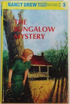 The Bungalow Mystery by Carolyn Keene (2000, Hardcover) Nancy Drew Book #3