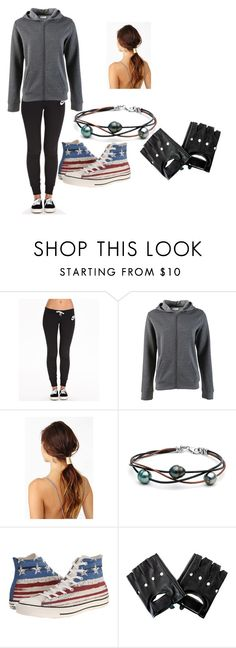 """""""Untitled #21"""" by arrow-8 ❤ liked on Polyvore featuring NIKE and Converse"""