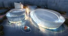 Chengdu Tianfu Cultural and Performance Centre by Studio Fuksas