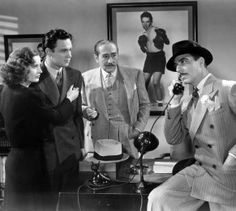 As 'Lorna Moon', with William Holden as 'Joe Bonaparte', Adolph Menjou as 'Tom Moody' and Joseph Calleia as 'Eddie Fuseli'in Clifford Odets'...