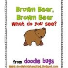 Student Brown Bear Books * FREE * My first graders enjoy writing and coloring this book to go along with Brown Bear. Kindergarten Reading, Reading Activities, Literacy Activities, Teaching Reading, Free Reading, Brown Bear Book, Library Lessons, Speech And Language, Language Arts