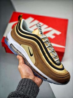 Nike Air Max 97 'Unboxed' 921826 201 All Nike Shoes, Kicks Shoes, Hype Shoes, Star Shoes, Nike Shoes Outlet, Running Shoes Nike, Sports Shoes, Yeezy 350 Shoes, Yeezy Boots