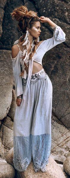 Bohemian style  #weloveboho #boho #bohemian #gypsy #freespirit #fashion #moda