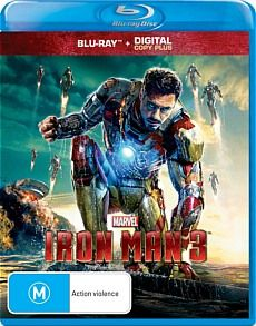 IRON MAN 3 BLU-RAY GIVEAWAY