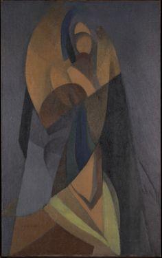 In Memoriam (1919) by Jacques Villon - Oil on burlap (Yale University Art Gallery New Haven, Connecticut)