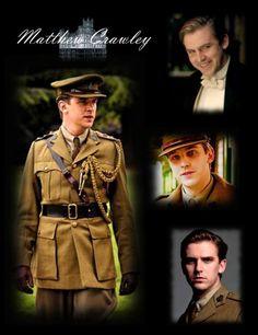 Matthew Crawley got to love a man in uniform! so hot