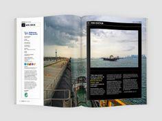 Helm Magazine, Customer magazine for Wilhelmsen Ships service.no (Art Direction: Dinamo Magazine) Magazine Spreads, Art Direction, Desktop Screenshot, Ships, Boats