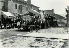 Fotos antiguas de Santiago de Compostela. Mercado de Abastos